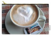 Cappuccino Love Carry-all Pouch