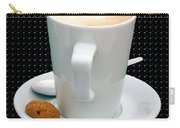 Cappuccino With An Amaretti Biscuit Carry-all Pouch by Terri Waters
