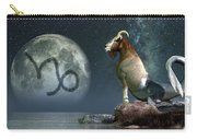 Capricorn Zodiac Symbol Carry-all Pouch