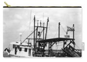 Capt. Jamie - Shrimp Boat - Bw 02 Carry-all Pouch