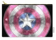 Captain America Shield Digital Painting Carry-all Pouch