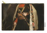 Captain Colin Mackenzie In His Afghan Carry-all Pouch by James Sant