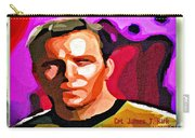 Captain James T Kirk Carry-all Pouch