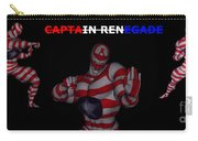 Captain Renegade Super Hero Combating Crime Carry-all Pouch