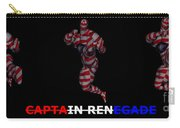 Captain Renegade Super Hero Jumping Karate Kick Carry-all Pouch