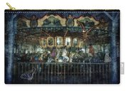 Captive On The Carousel Of Time Carry-all Pouch