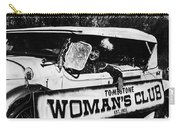 Car And Driver In Helldorado Days Parade In Tombstone Arizona 1967 Carry-all Pouch