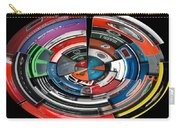 Car Badges Collage Polar View Carry-all Pouch