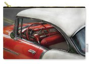 Car - Classic 50's  Carry-all Pouch by Mike Savad
