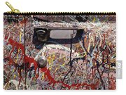 Car Door Splattered Piant.tif Carry-all Pouch