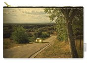 Car On Road Carry-all Pouch by Carlos Caetano