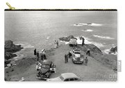 Car Over Edge On Highway One  Big Sur  California    March 27 1947 Carry-all Pouch