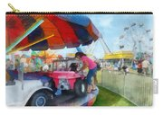 Car Ride At The Fair Carry-all Pouch