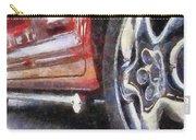 Car Rims 02 Photo Art 02 Carry-all Pouch
