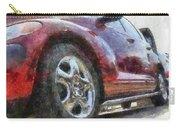 Car Rims 04 Photo Art 02 Carry-all Pouch