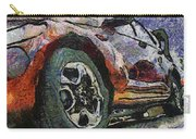 Car Rims 04 Photo Art 04 Carry-all Pouch