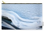 Car Windshield Freshly Fallen Snow Melting Carry-all Pouch