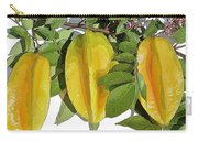 Carambolas Starfruit Three Up Carry-all Pouch