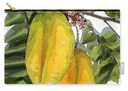 Carambolas Starfruit Two Up Carry-all Pouch