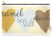 Caramel Sea Salt And Chocolate Carry-all Pouch