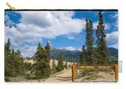 Carcross Desert Sand Dunes Yukon Territory Canada Carry-all Pouch