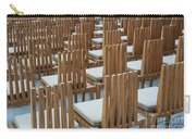 Cardboard Cathedral Chairs Carry-all Pouch