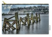Cardiff Bay Old Jetty Supports Carry-all Pouch