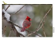 Cardinal - A Winter Bird Carry-all Pouch