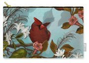Cardinal And Apples Carry-all Pouch