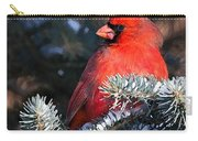 Cardinal And Evergreen Carry-all Pouch