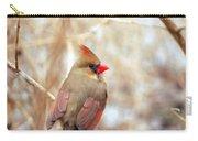Cardinal Birds Female Carry-all Pouch