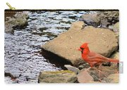 Cardinal By The Creek Carry-all Pouch