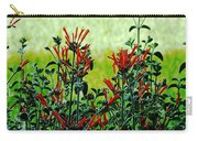 Cardinal Flowers Carry-all Pouch