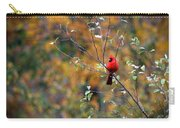 Cardinal In Autumn Carry-all Pouch