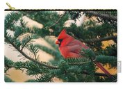 Cardinal In Balsam Carry-all Pouch