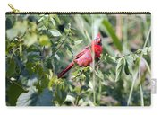 Cardinal In Bush I Carry-all Pouch
