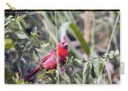 Cardinal In Bush Iv Carry-all Pouch