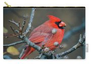 Cardinal In The Berries Carry-all Pouch