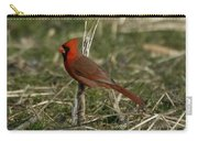 Cardinal In The Field Carry-all Pouch