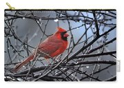 Cardinal In The Rain   Carry-all Pouch
