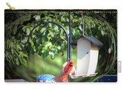 Cardinal Tail Wide Landing Digital Art Carry-all Pouch