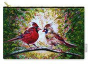 Cardinals Chat Carry-all Pouch