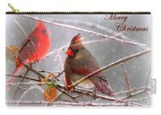Cardinals - Male And Female - Img_003card Carry-all Pouch