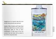 Carey Chen Big Chill Vodka By Jimmy Johnson Carry-all Pouch