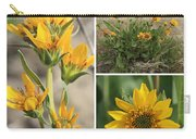 Carey's Balsamroot Collage Carry-all Pouch