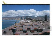 Cargo Containers At A Harbor, Honolulu Carry-all Pouch