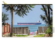 Cargo Ship On Chesapeake Bay Carry-all Pouch