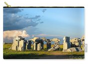 Carhenge Somewhere In Nebraska Carry-all Pouch