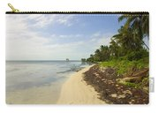 Caribbean Beach In Ambergris Caye Belize Carry-all Pouch