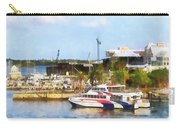 Caribbean - Dock At King's Wharf Bermuda Carry-all Pouch